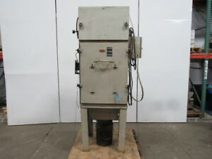 Coral Airflow Syst 3 Hp Dust pak Weld Fume Dust Collector 8 Intake 208 230 460v