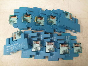 Finder Relay Coil Type 40 52s lot Of 10