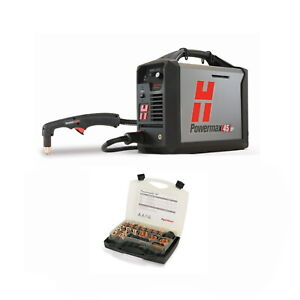 Hypertherm Powermax45 Xp Plasma Cutter With 50ft Hand Torch Pkg 088114