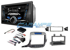 New Power Acoustik Bluetooth Aux Stereo Radio Cd Player W install Kit For Camaro