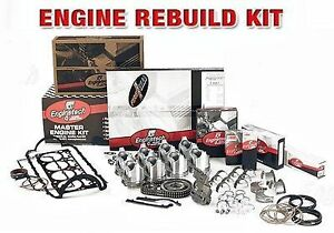 engine Rebuild Kit Chevrolet Diesel 395 6 5l Ohv V8 1992 1993 inc Turbo