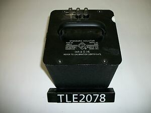 General Radio 1482 e Standard Inductor tle2078
