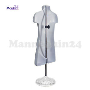 One Mannequin Torso Child W Stand Hanger Flesh Kids Dress Form