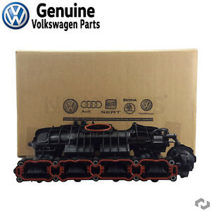 For Vw Beetle Jetta Passat 1 8 2 0 Engine Intake Manifold Genuine 06l133201as