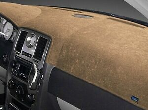 Jeep Cherokee 1974 1983 Brushed Suede Dash Board Cover Mat Oak
