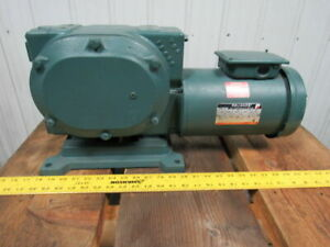 Reliance Fd145cg21b 2 Hp Master Xl Gearmotor 40 1 44 Rpm Out 208 230 460v New