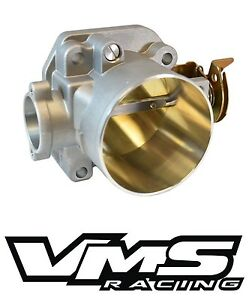 Vms Pro Race Throttle Body 74mm 74 Mm Honda Civic Si Crx Integra Gsr Direct Fit