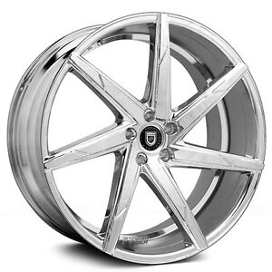 4 Rims 17 Lexani Wheels Css 7 Chrome Rims