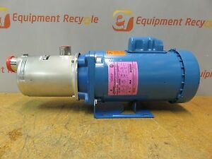 Goulds 1hm1f4e0 Centrifugal Pump 15 Gpm 1 1 4 Npt Inlet X 1 Npt Outlet New