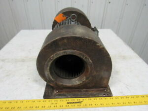 Horwath Industrial Heavy Duty Double Squirrel Cage Blower Fan 3hp 3500rpm