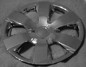 2008 Toyota Camry 16 Chrome Hubcaps 4 New Hub Caps With Steel Clips