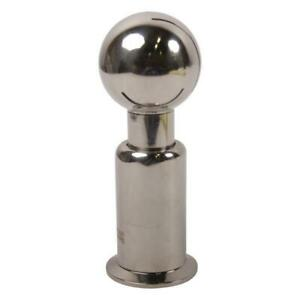 Rotating Spray Ball Tri Clamp 1 5 X 2 Sanitary Stainless Steel Ss304