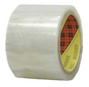Scotch r Box Sealing Tape 371 Clear 48 Mm X 914 M 6 Per Case Bulk