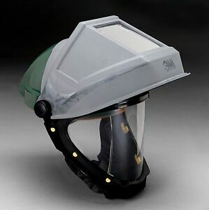 3m Hard Hat With Welding Shield And Wide view Faceshield L 705sg f 1