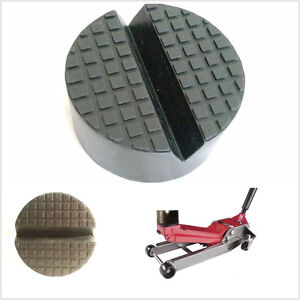 Extra Large V Slotted Autos Hydraulic Floor Rubber Jack Pad Frame Rail Protector