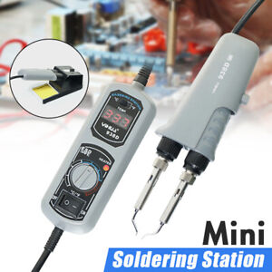 New Portable Hot Tweezers Mini Soldering Station For Bga Smd Repairing 110v 220v