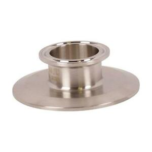 End Cap Reducer Tri Clamp clover 3 Inch X 1 5 1 1 2 Sanitary 2 Pack