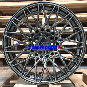 Xxr 553 Wheels Chromium Black 17 X 8 25 36 Rims 5x114 3 06 15 16 Honda Civic Si
