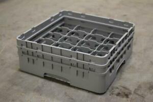 Lot Of 5 Used Cambro Model 20c414 Commercial industrial Kitchen restaurant Dis