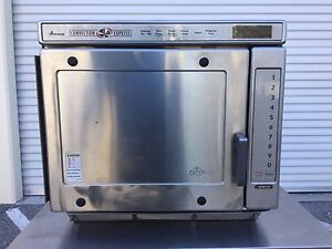 Amana ace14 convection express commercial combination microwave oven