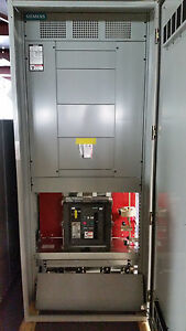 1600amp 480 277 Siemens Main Circuit Breaker Gfi Panel Board Switchgear 3r New