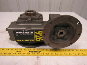 Winsmith 926mdsfd Double Reduction Hollow Shaft Gear Reducer 750 1 Ratio