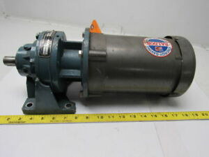 Shimpo Emb0120002000000 Circulute Speed Reducer Gearbox 17 1 Ratio 469 Lb in