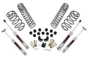 1997 2006 6 Cylinder Jeep Tj Wrangler 3 75 Combo Lift Kit W N3 Shocks 647 20