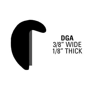 Edge Guard Moldings Gloss Black Protective Trim Mouldings 50 Ft Roll