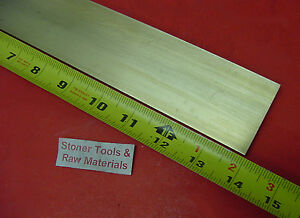 1 4 X 2 C360 Brass Flat Bar 14 Long Solid 25 Plate Mill Stock H02