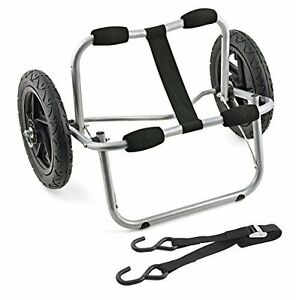 Canoe Kayak Cart With Tie Downs Includes Straps And Hooks Propel Aluminum