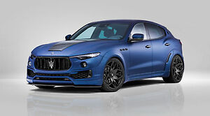 Novitec Esteso Widebody Kit With Optional Parts And Wheels Maserati Levante
