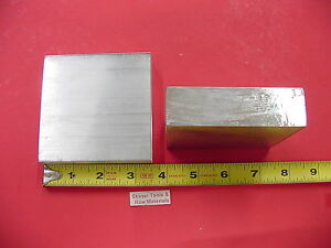 2 Pieces 1 X 3 1 2 Aluminum 6061 Flat Bar 3 5 Long T6 Solid Plate Mill Stock