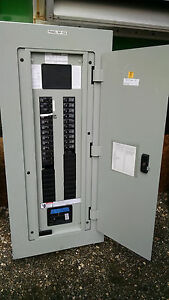 Siemens 200amp 208y 120 P1 Main Circuit Breaker Panel Board With Branch Breakers