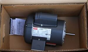 Dayton 3 4hp 1ph 3450rpm 115 230v General Purpose Electric Motor 5ukf5 New