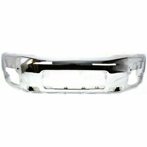 Front Bumper For 2005 2007 Nissan Armada Steel Chrome