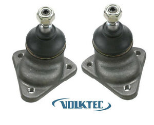 Pair Ball Joints 1971 To 5 73 Vw Volkswagen Super Beetle Bug 1302 113407361e