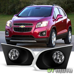 2015 2016 Chevy Trax Bumper Driving Fog Lights Lamps Switch Bulbs 15 16