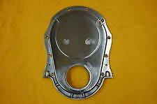 Polished Aluminum Timing Cover Bbc Chevy Rat Rod 427 502