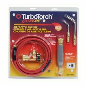 Victor Turbotorch X 3b Torch Kit Swirl For B Tank Air Acetylene 0386 0335