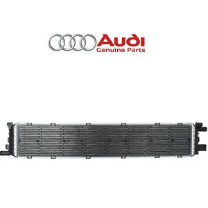 For Vw Audi A6 A7 Quattro S4 S5 3 0l Center Lower Supercharger Radiator Genuine