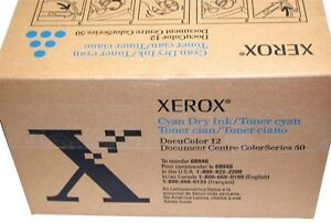 Up To 2 New Genuine Xerox Docucolor 12 Toner Cyan 6r946 4 b0x