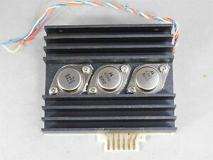 Hp agilent 83525 60010 Transistor Heatsink Assembly