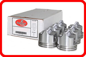 87 95 Jeep Amc 242 4 0l Ohv L6 6 dish Top Pistons Std 020 030 040 060