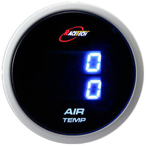 Inside Outside Thermometer Air Temp Gauge Metertruck car Dual Display Blue Led