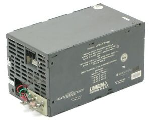 Lambda Lfs 47 48 Regulated Power Supply 48v