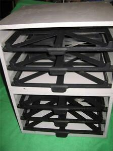 2 Hardware Part Tool Retail 3 Drawer Storage Cabinet Tray Organizer Rack Fixture
