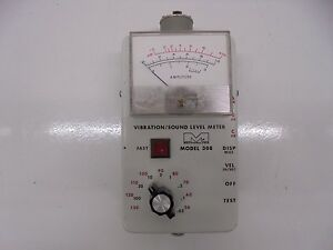 Ird Mechanalysis 308 Vibration sound Level Meter Ad