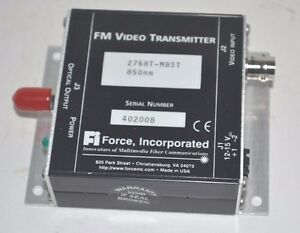 Force 2768t mbst Optical Fm Transmitter