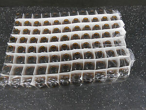 Lot Of 96 2oz Glass Amber Bottles No Caps Or Stoppers